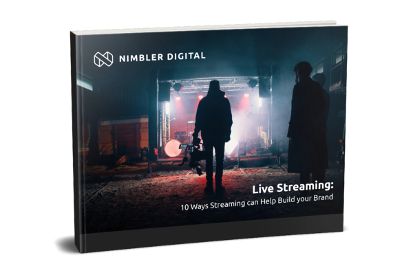 Streaming for business ebook cover mockup 2